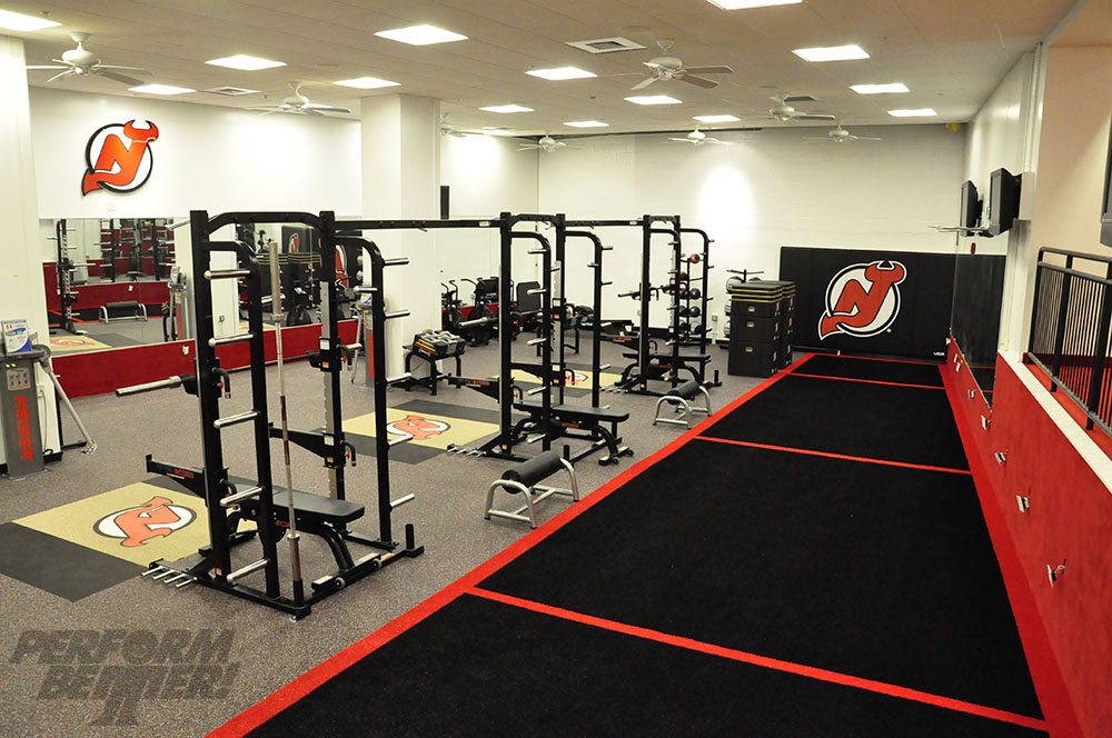 Fitness facility gym design