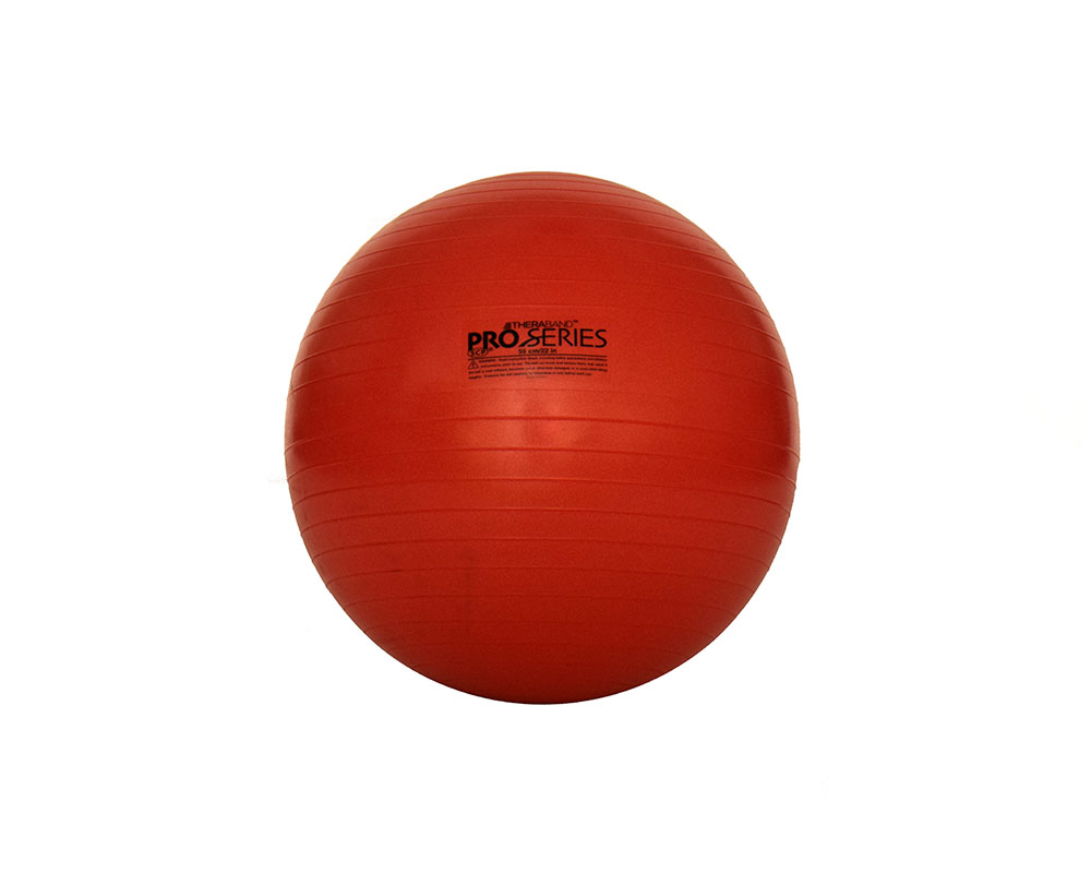 Thera-Band Pro Series SCP Stability Ball: 55cm (22 in.) - Red