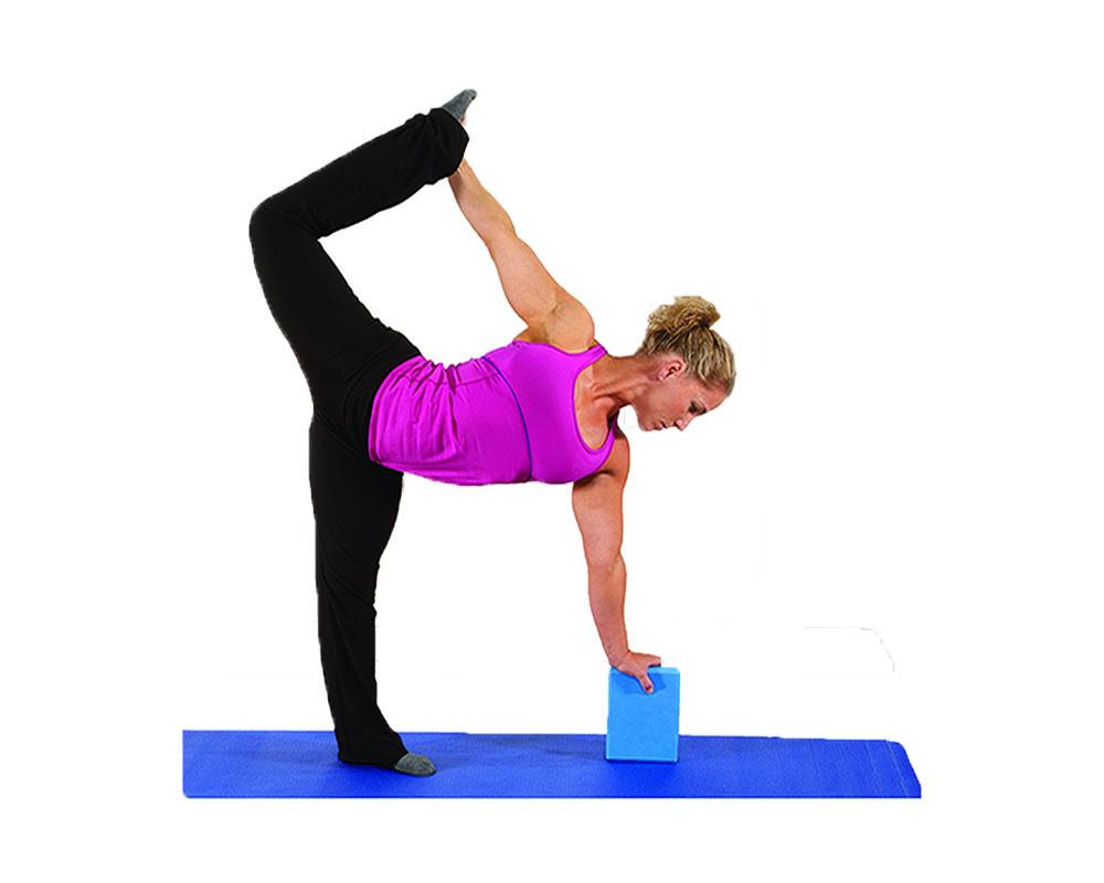 AITREASURE Yoga Blocks for Beginner Pilates Brick Yoga Ring Back Stretch Training Equipment for Women