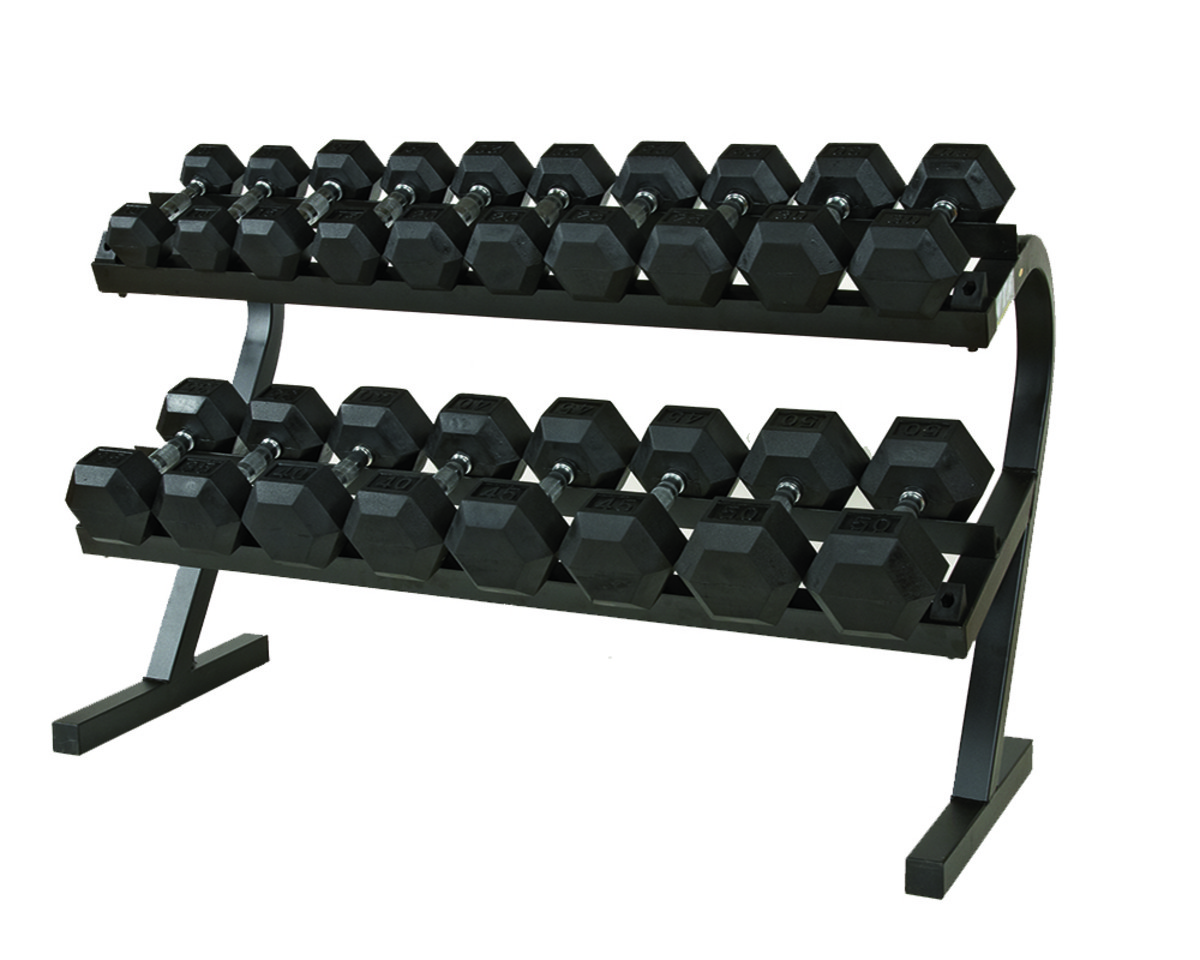 First Place Economy 2-Tier Dumbbell Rack